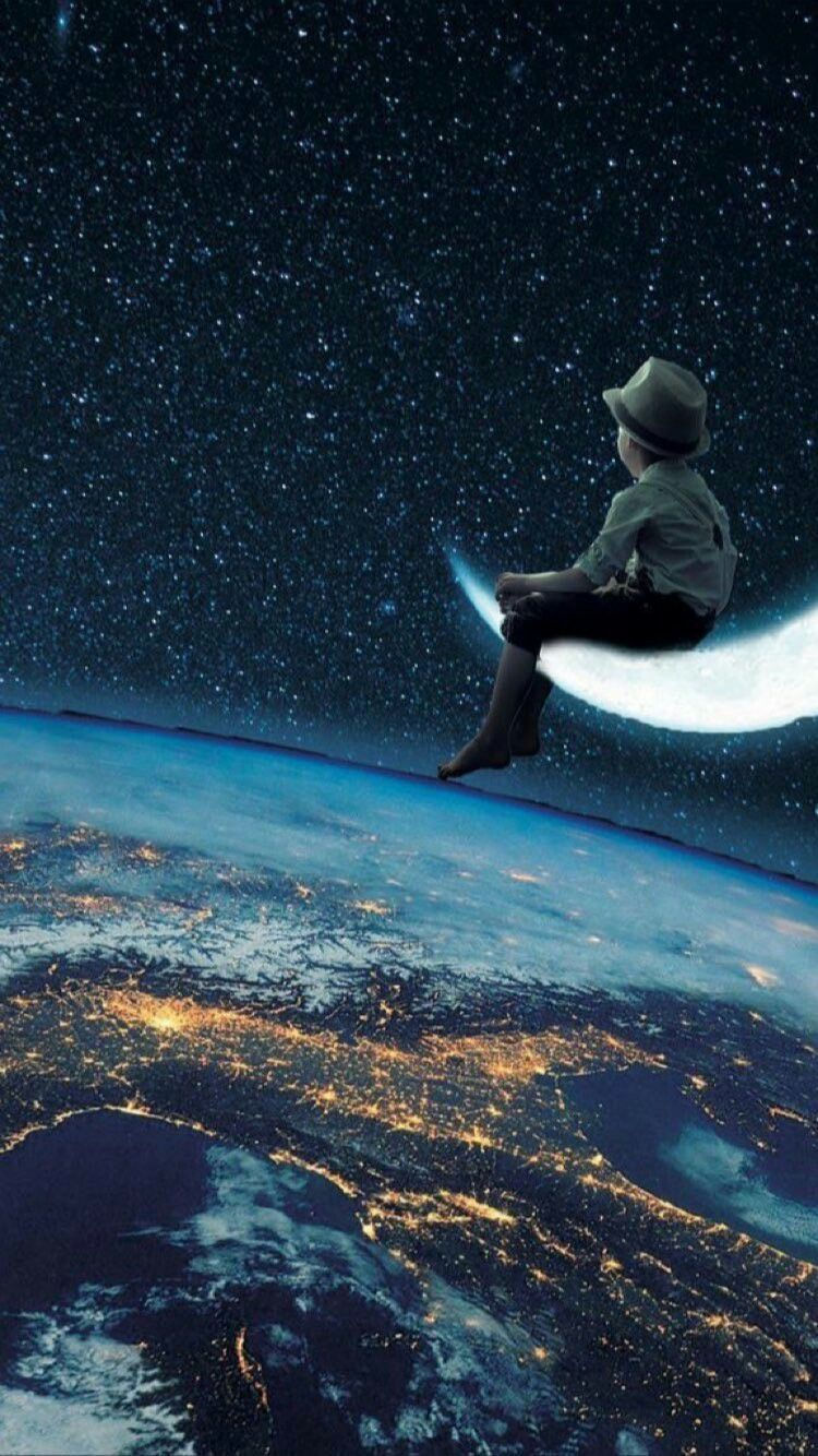 Pin By Nina On Wallpapers Space Artwork Surreal Art Space Art