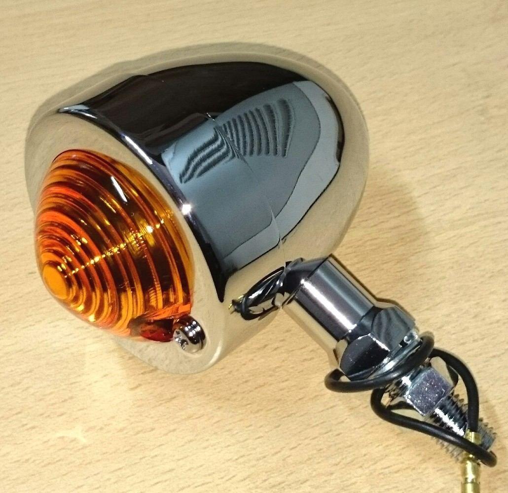 Faro Giro Bullet Motos Custom Choperas Tuning Drag Bobber Tw - $ 368,00 en MercadoLibre