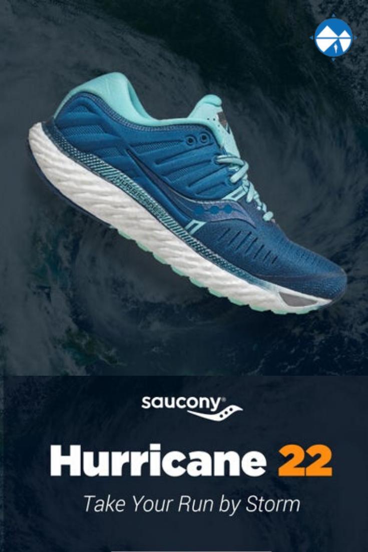 Women's Saucony Hurricane 22 en 2020