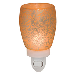 CREAM GLASS SCENTSY NIGHTLIGHT WARMER The perfect sigh of warm, speckled light with a lovely cream glow.…