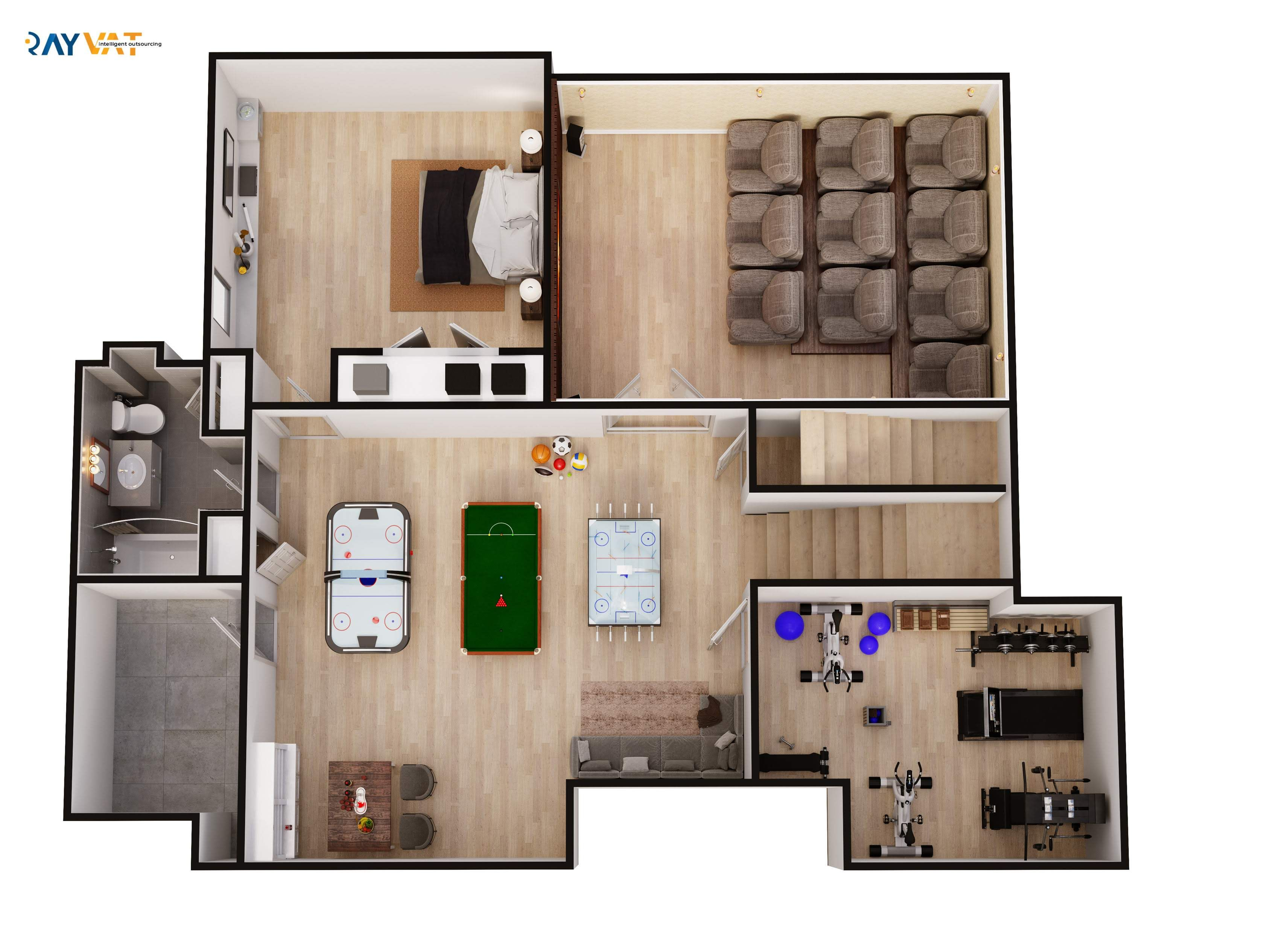 Basement Floorplan Architectural Floor Plans Basement Floor Plans Contemporary House Design