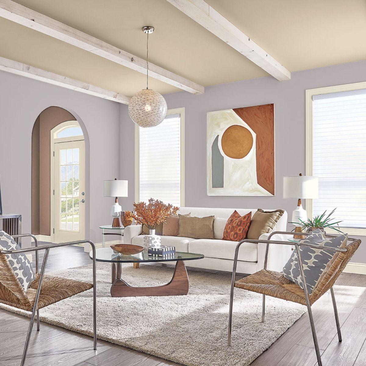 Mystical Shade Sw 6276 Sherwin Williams Paint Color Ideas Gray Paint Color Liv Gray Color Palette Living Room Purple Living Room Purple Living Room Paint