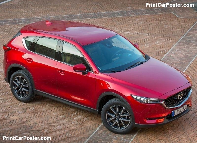 Mazda CX-5 [EU] 2017 poster | Mazda