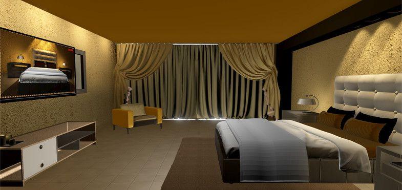 Minimalist Bedroom #Bedroom#Minimalist#Furniture#Props Logo
