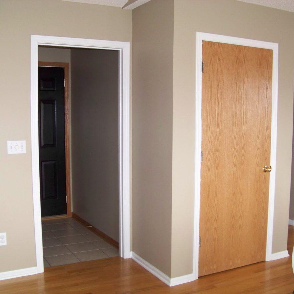 White interior doors with oak trim - White Interior Doors With Oak Trim