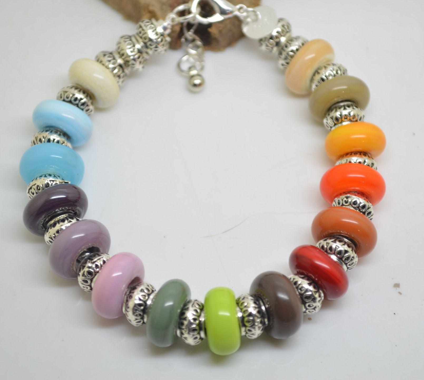 bracelet type pandora argent