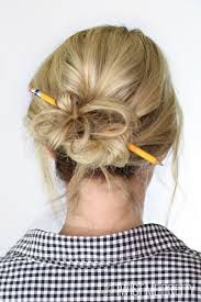 pencil within reach  medium hair styles easy updos for