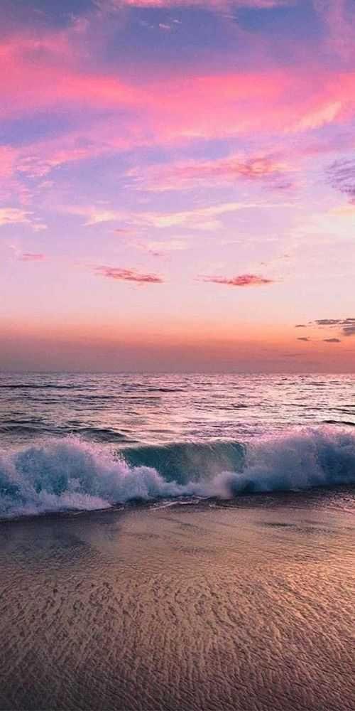 Imgur Sunset Wallpaper Sky Aesthetic Beach Wallpaper