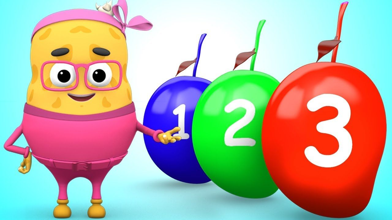 The Mango Numbers Song Learn To Count From 1 To 10 Number Rhymes For With Images Learning Shapes Kindergarten Kids Preschool Kids