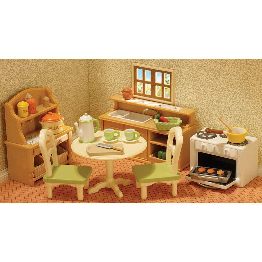 Sylvanian Families Country Kitchen Set Toys R Us Australia