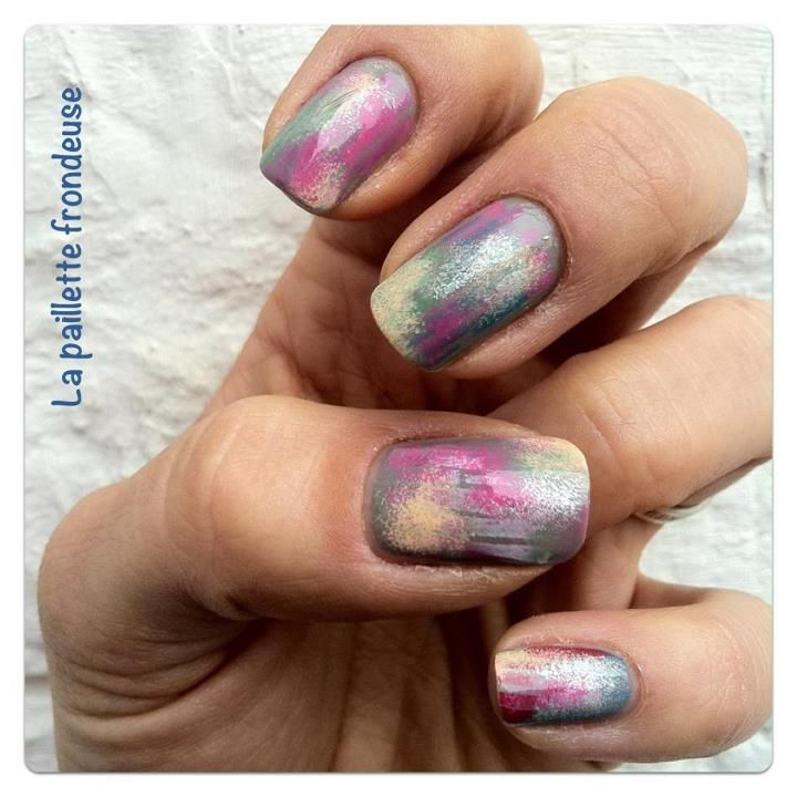 Cosmic Nails!!! Fabulous! | Nails | Pinterest | Funky nail art ...
