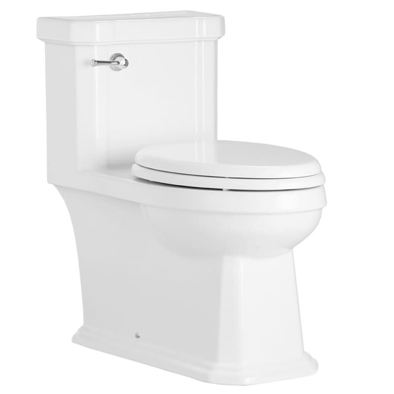 Mirabelle Miram241s Amberley 1 28 Gpf One Piece Elongated Ada Height Toilet With White Fixture Toilet One Piece Elongated In 2020 Toilet Luxury Kitchens Bathroom Gallery