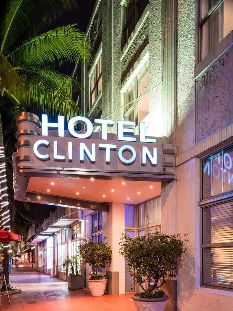 Miami Beach S Clinton Hotel Is Listed For 31 5 Million South Hotels