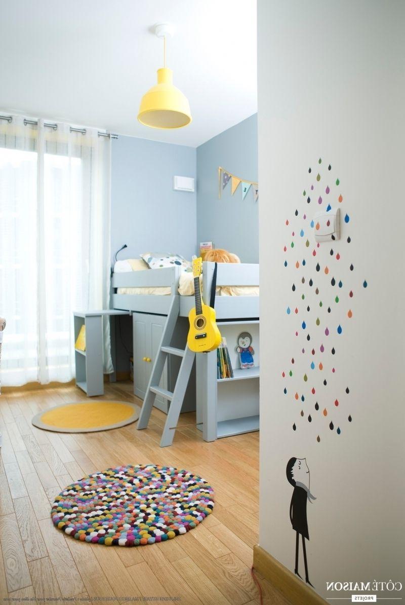 Deco Chambre Enfant Amenagement Plans Cote Maison Concernant Le