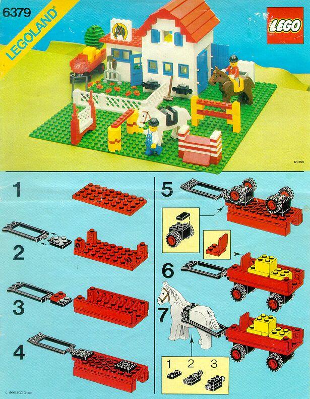 Old Lego Instructions Letsbuilditagain Lego Girl Bin