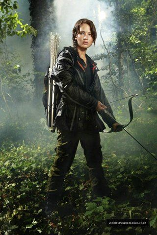 New Jennifer Lawrence As Katniss In The Hunger Games Promo