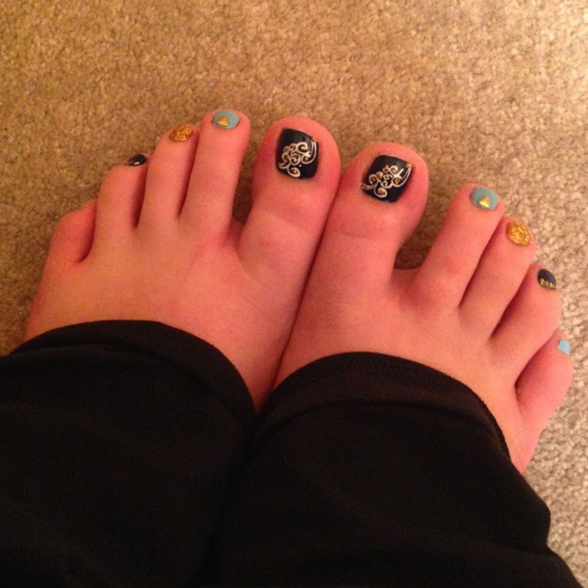 Pedicure Design done by Elite Nail Spa in Woodstock, GA | Nail Ideas ...