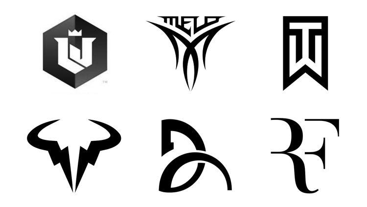 basketball players shoe logos and names yahoo image search results rh pinterest com Roger Federer Nike Logos Nike Athlete Program Logo