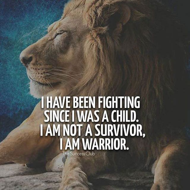 Developing Strength Motivational Quote: 30 Motivational Lion Quotes In Pictures