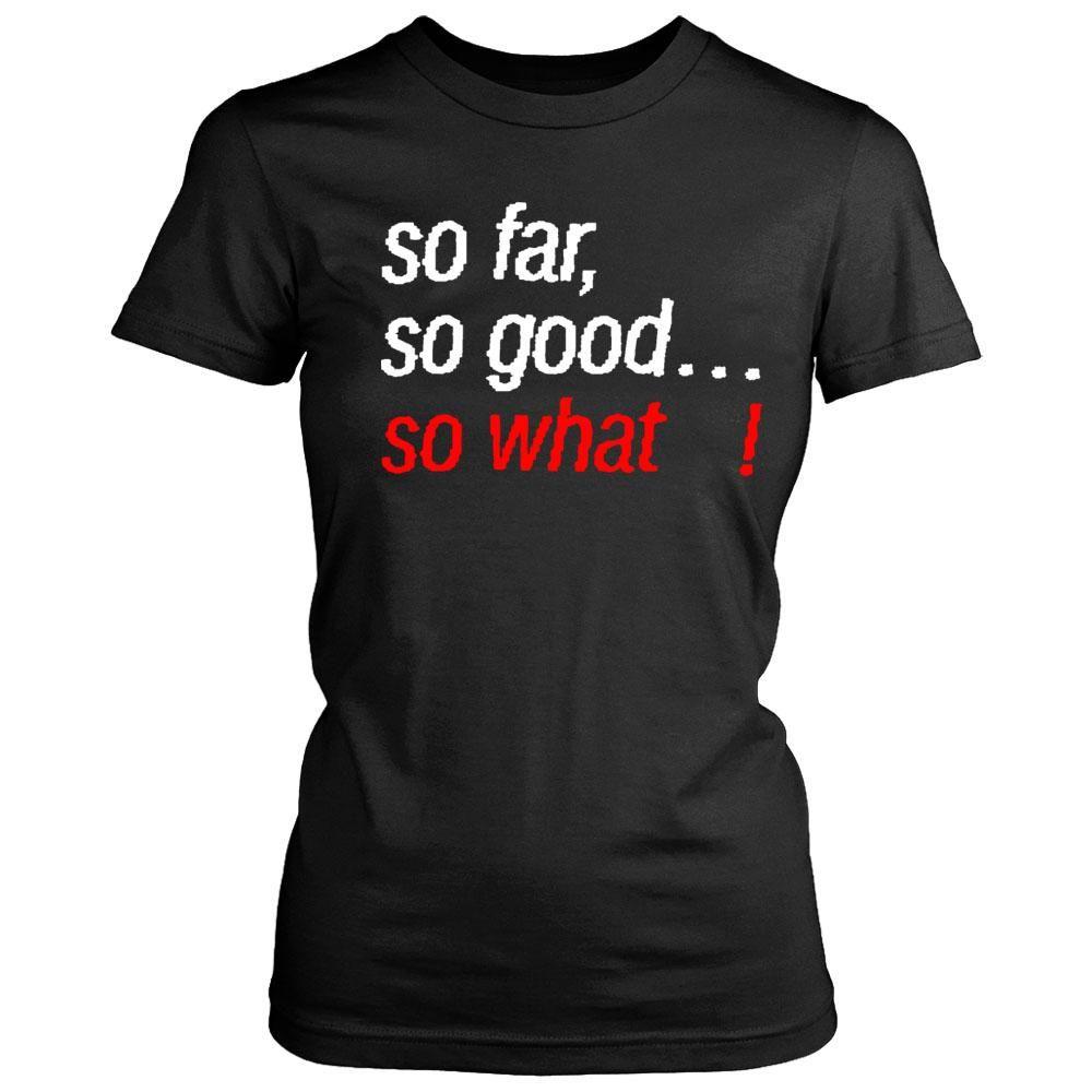 Megadeth So Far So Good So What Lyric Women's T-Shirt