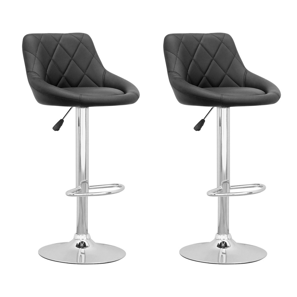 Counter And Bar Stools CorLiving Black