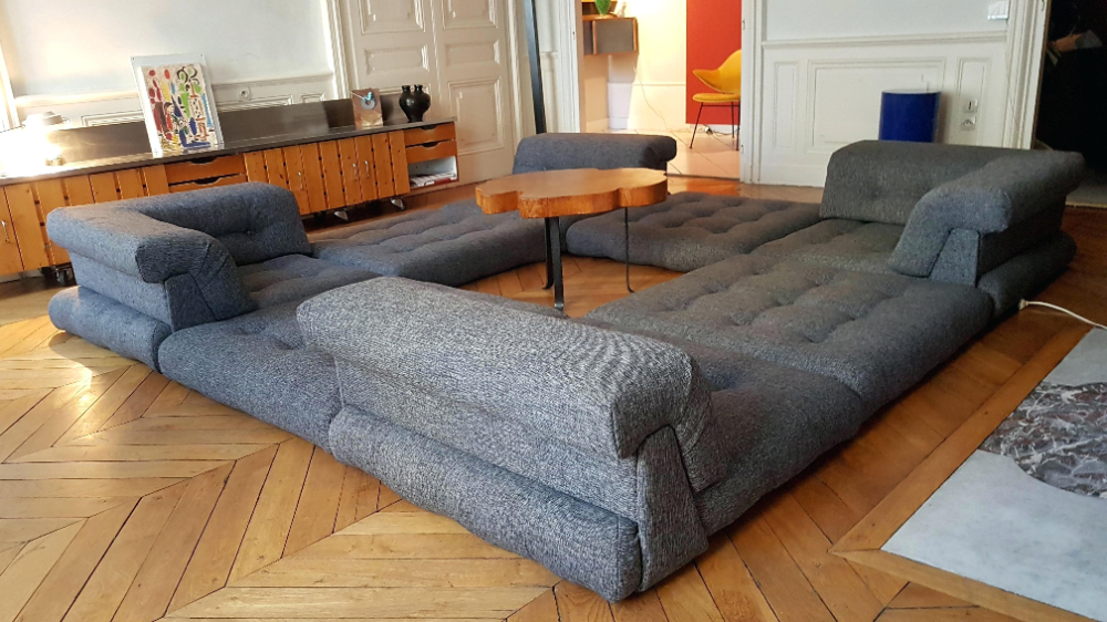 Mah Jong Sofa Sofa From In Excellent Condition For Sale In Fr Mah