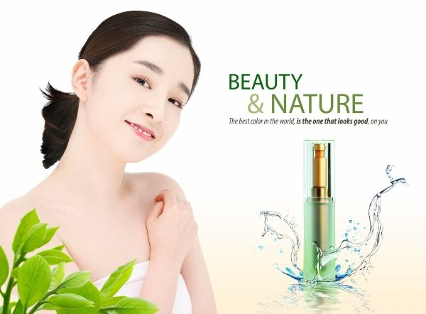 Natural Psd Women Skin Care Advertising Skin Care Women Skin Care Women Skin