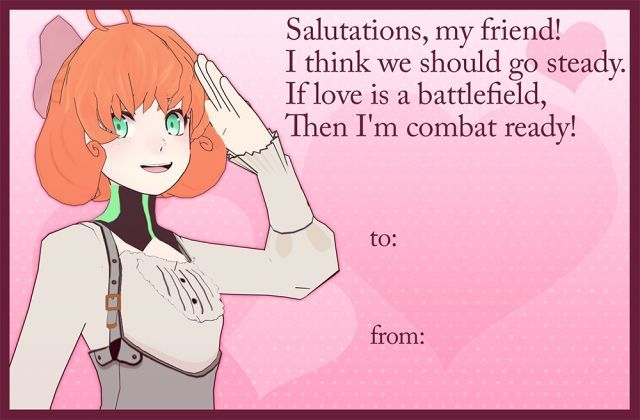 Rooster Teeth Happy Valentine S Day From Rwby Rwby Pinterest