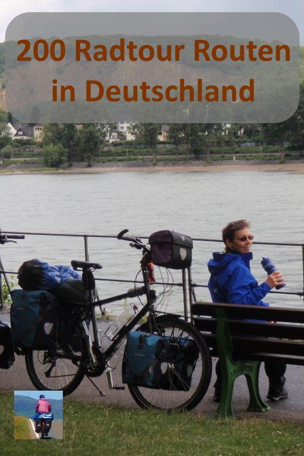 200 Radtour Routen in Deutschland: Fahrrad Routenplaner