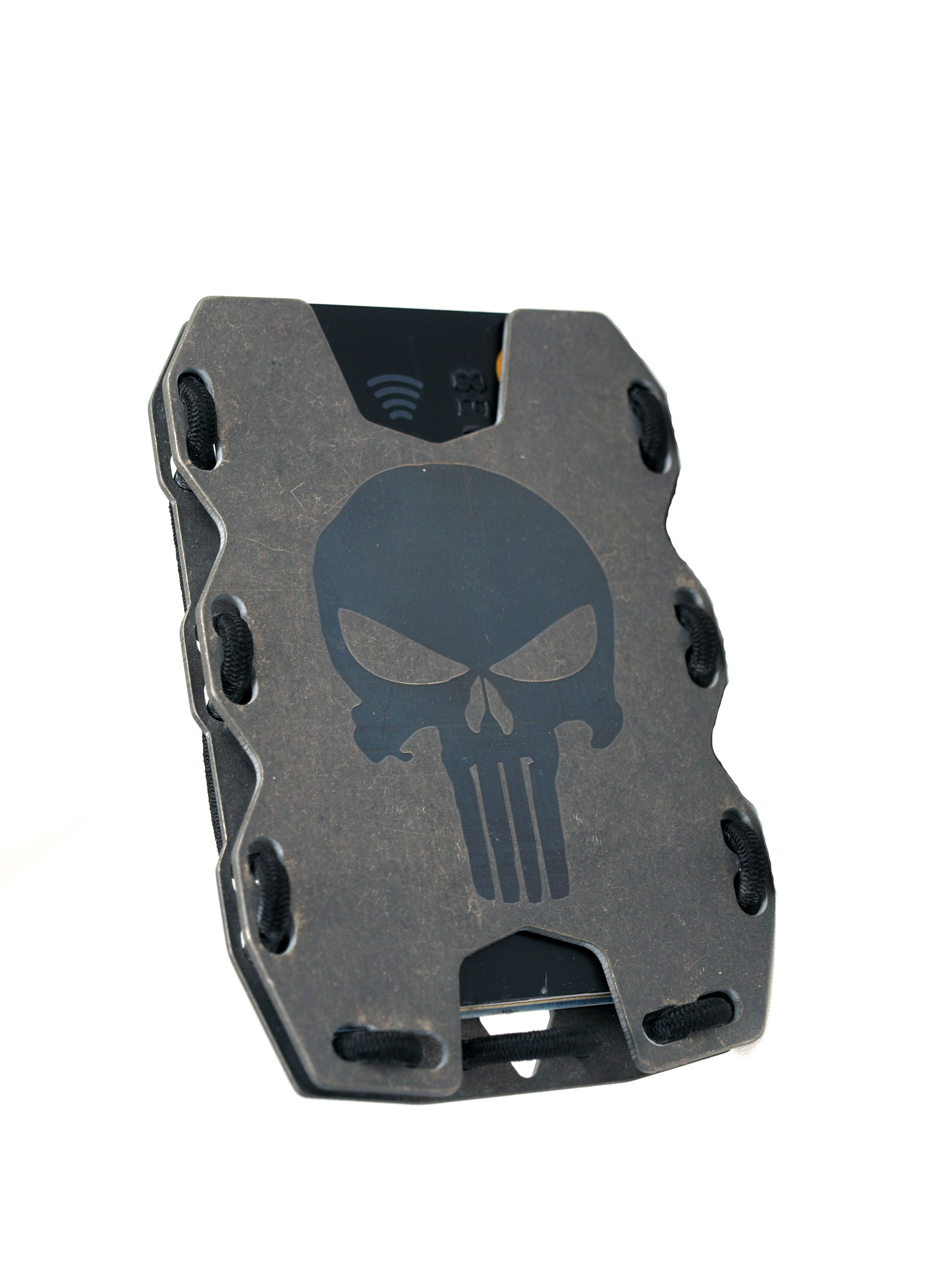 Kydex Tactical Wallet w// Custom Belt Clip,We The People Flag Holds Up To 7 Cards