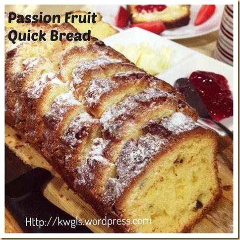 Eine gesündere Alternative als Kuchen - Passionsfrucht-Schnell - schnelle vegane küche