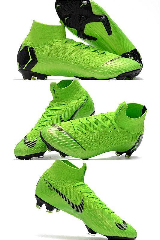 Distribuidores de descuento Zapatos De Fútbol Verde Amarillo