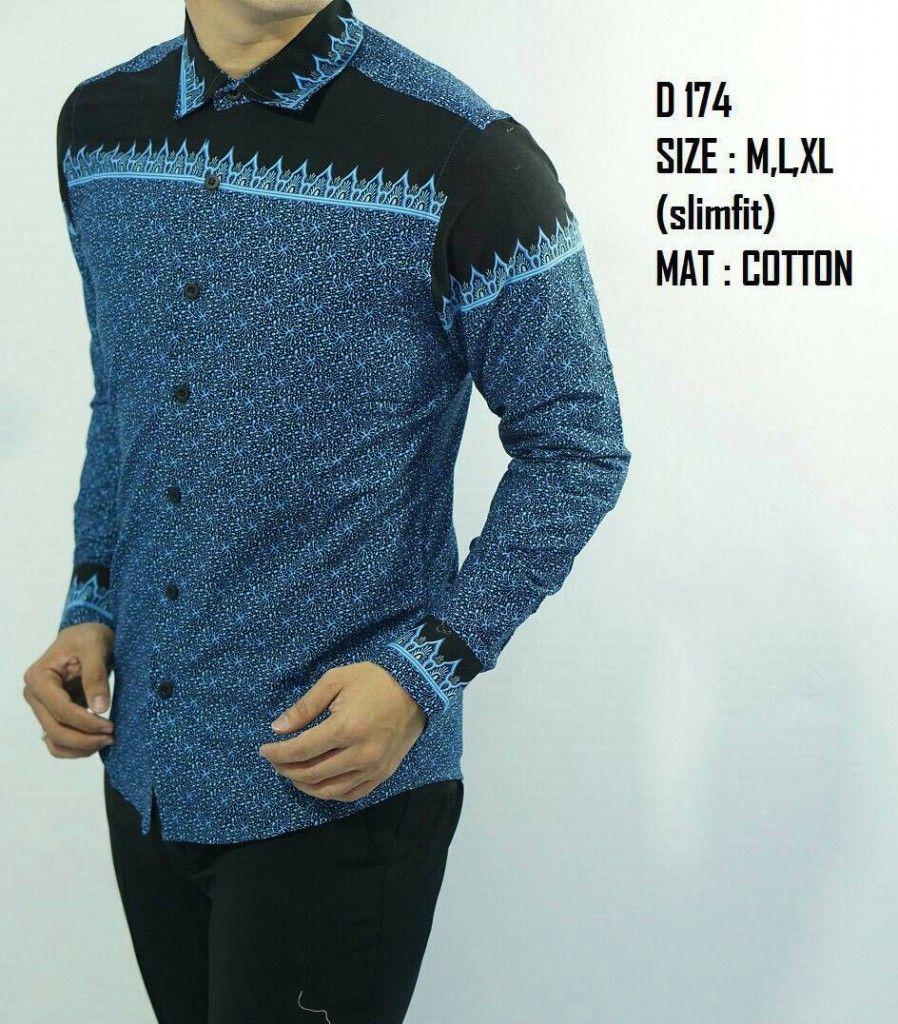 Model Baju Batik Sasirangan Pria