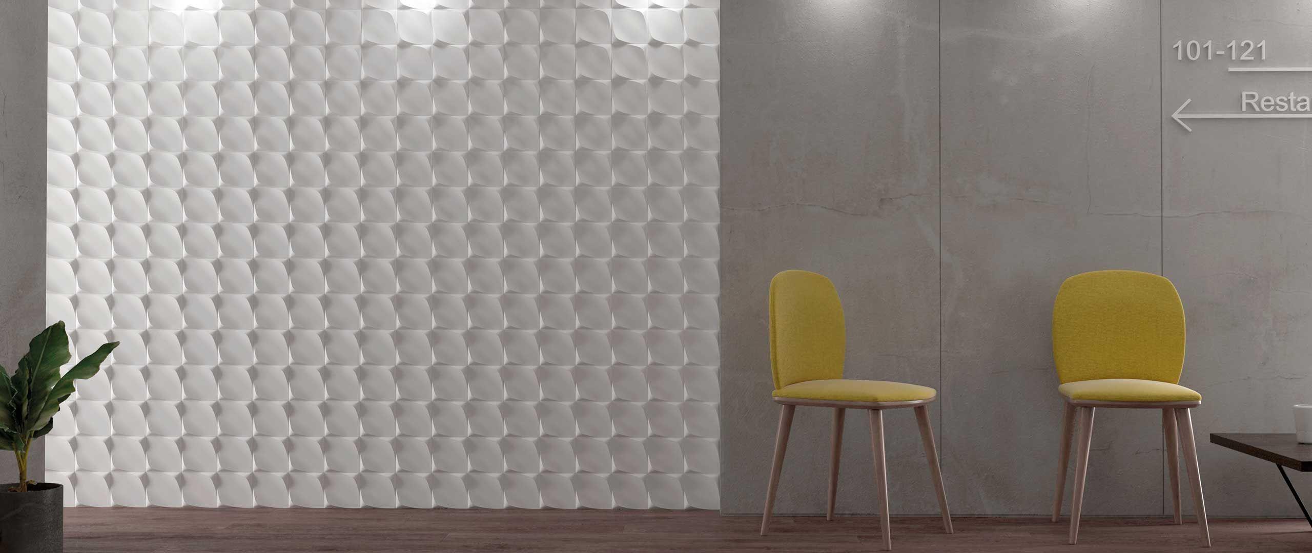 wave contract by wow design eu 3d ceramic trends tiles studio architecture ambient 3