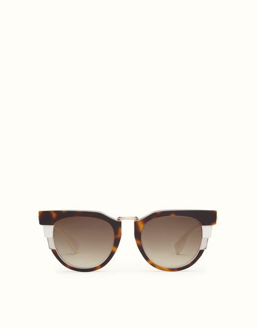 FENDI | METROPOLIS Tricolour sunglasses