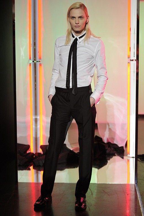 #andrej pejic #andrej #pejic #jean paul gaultier #paris fashion week