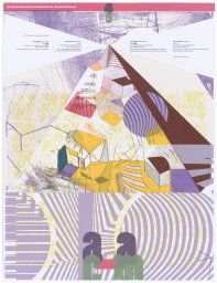 Association for the Advancement of Creative Musicians 45th Anniversary Concert Series poster, 2010 by Nicholas Butcher and Nadine Nakanishi