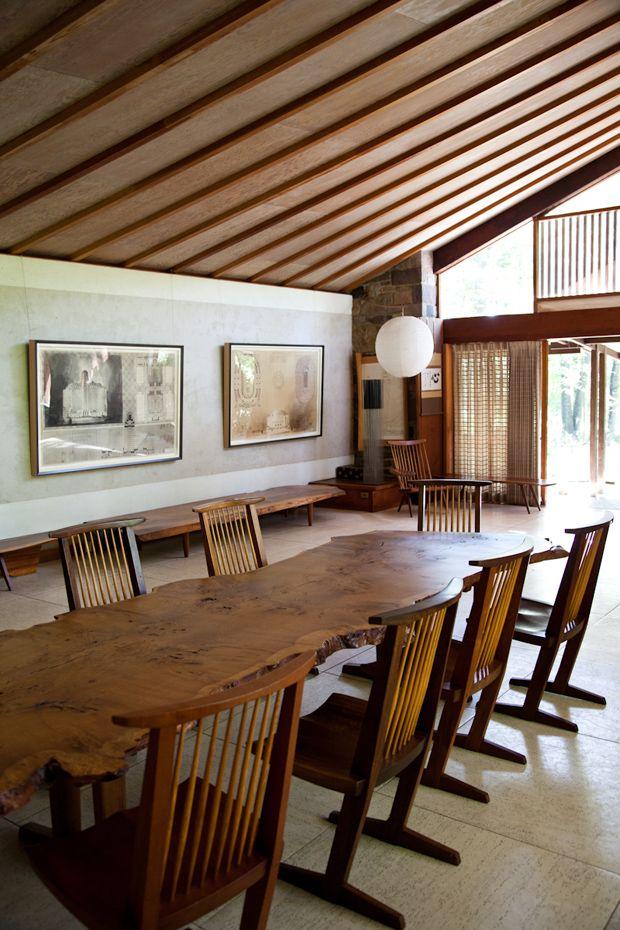 Mjolk visit the Nakashima Studio image 7