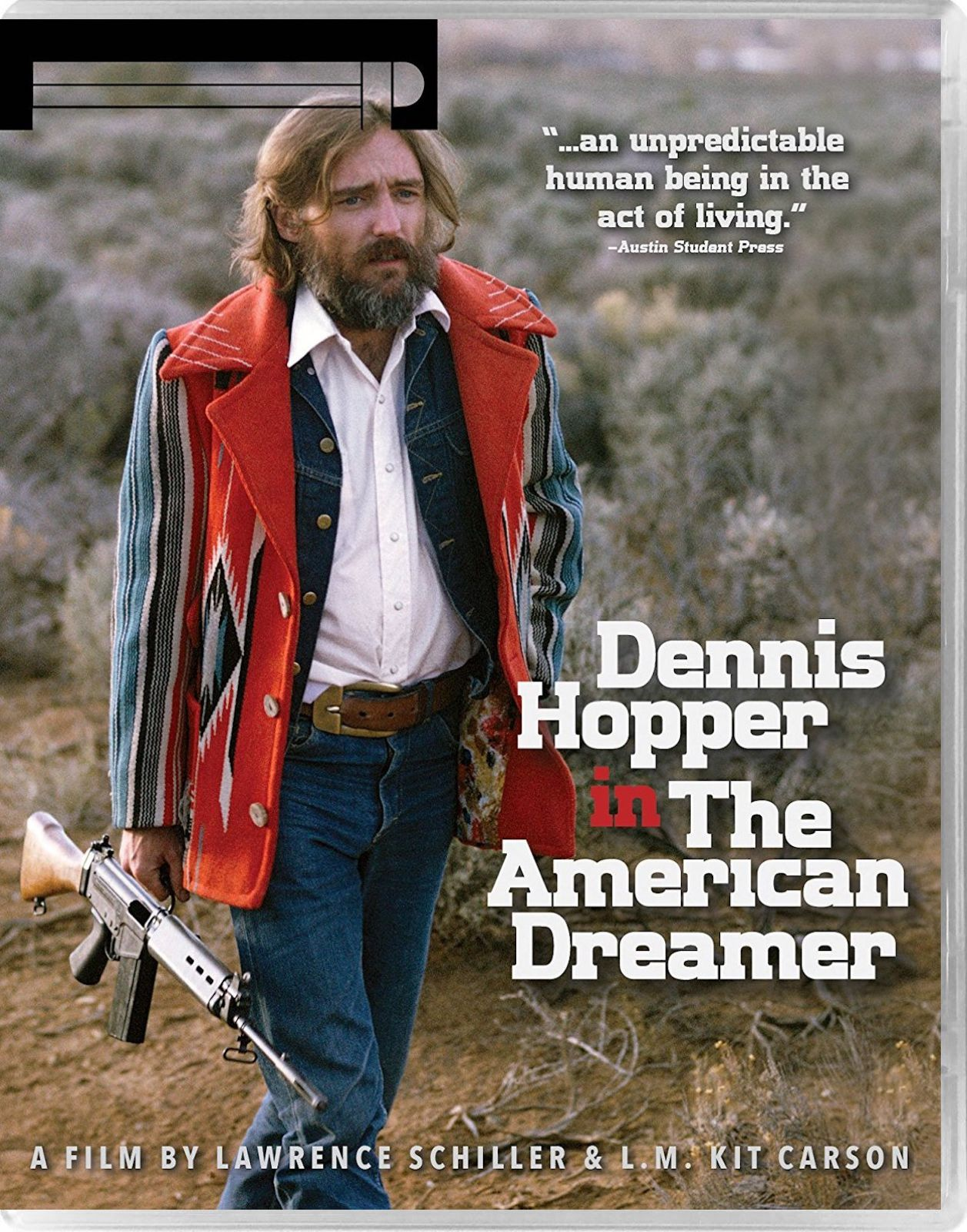 DENNIS HOPPER IN THE AMERICAN DREAMER ETIQUETTE PICTURES