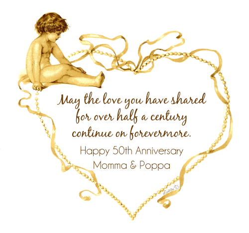 50th Wedding Anniversary Poems: Free 50th Anniversary Quotes