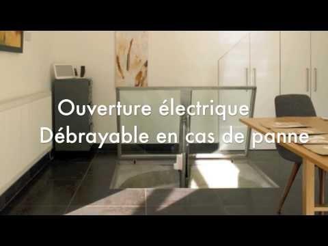 Automatisme Ouverture De Trappe Ou De Cave Au Sol Avec Verin Horizontal Youtube Trappe Plan Maison Bois