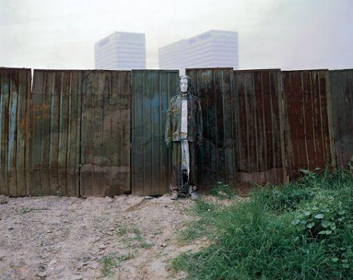 Gap in fence