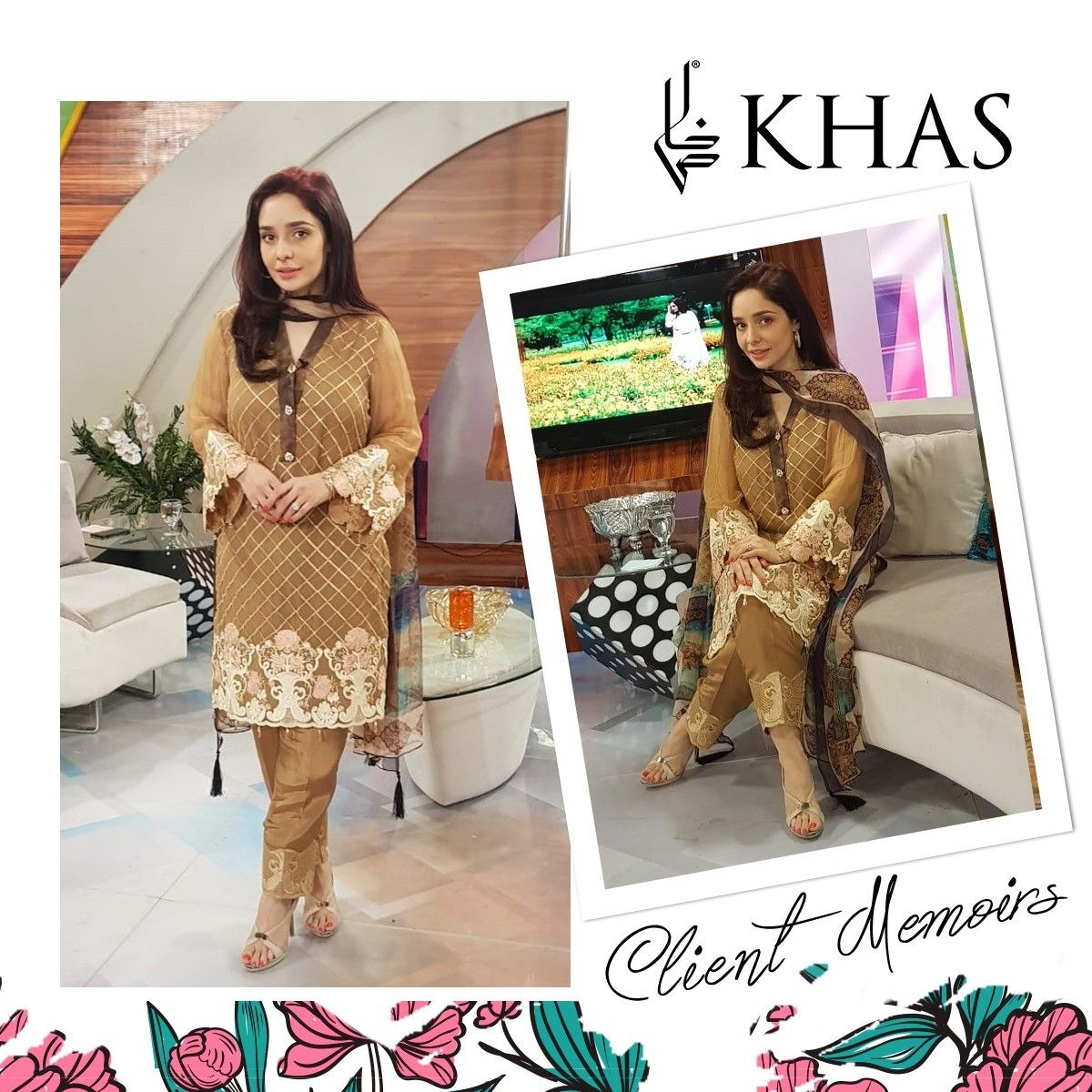 Stylish, Juggun Kazim Takes Center Stage Clad In Our