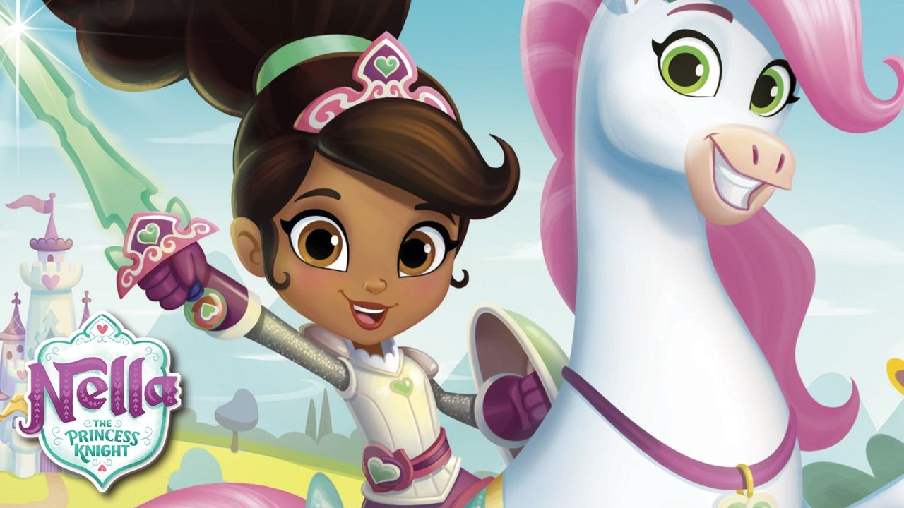 nella the princess knight ride and seek  for kids