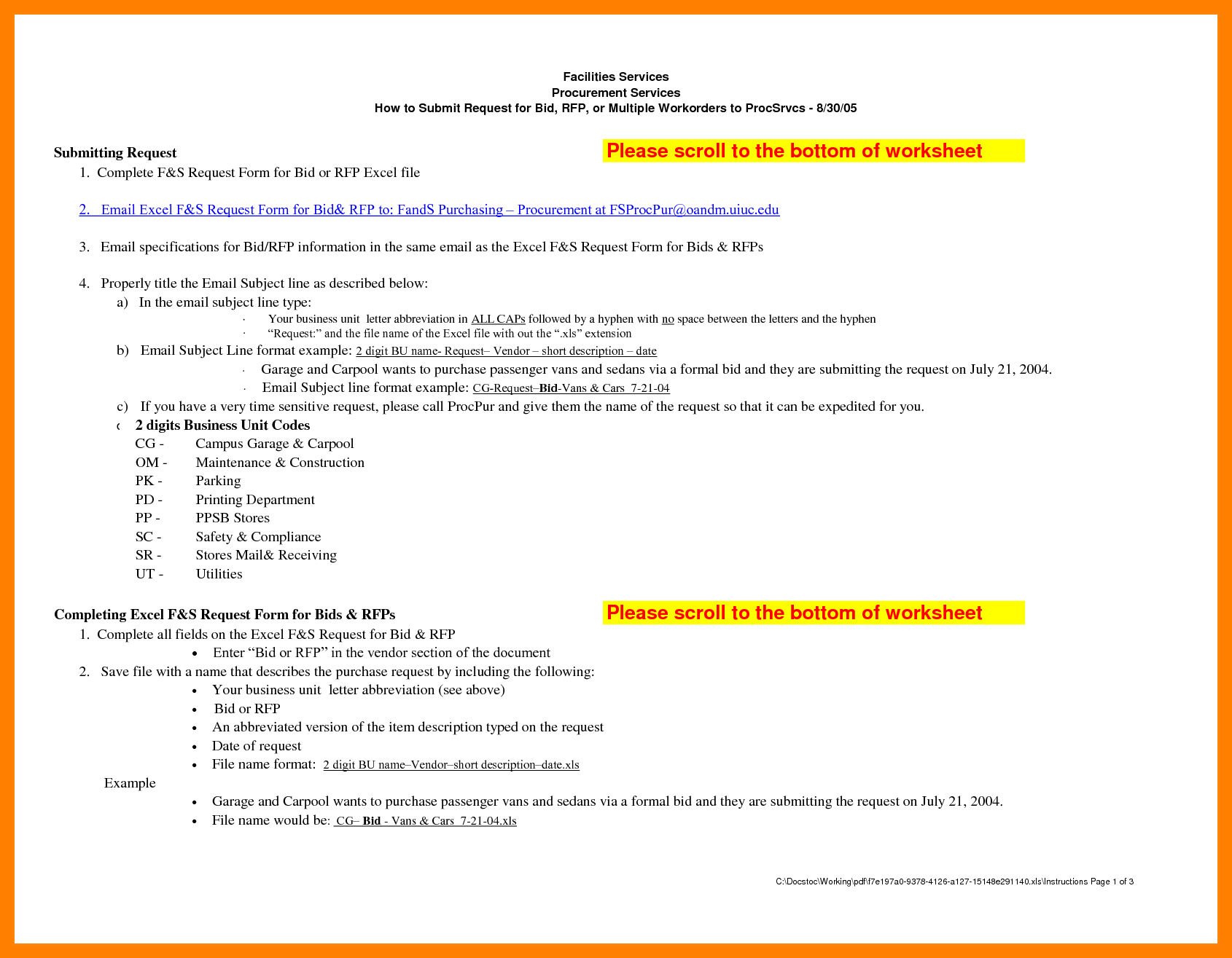 Layout Formal Email Resume Sections Emailrmal Business Format