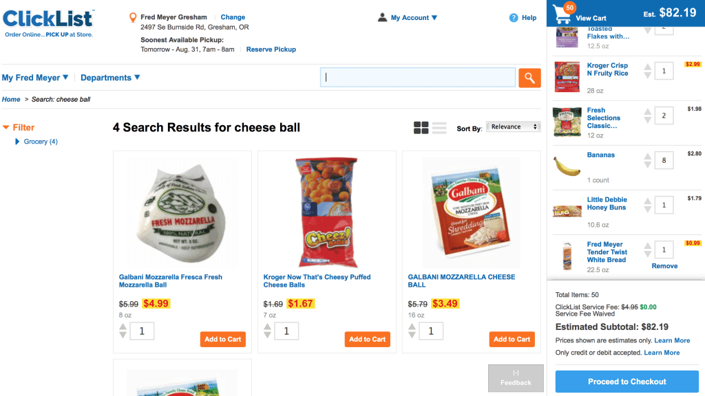 Grocery Shop from Home with Fred Meyer Clicklist Fred