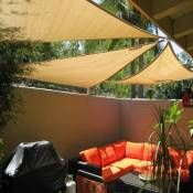 Coolaroo Coolhaven Right Angle Shade Sail 15ft X 12ft X 9ft Home