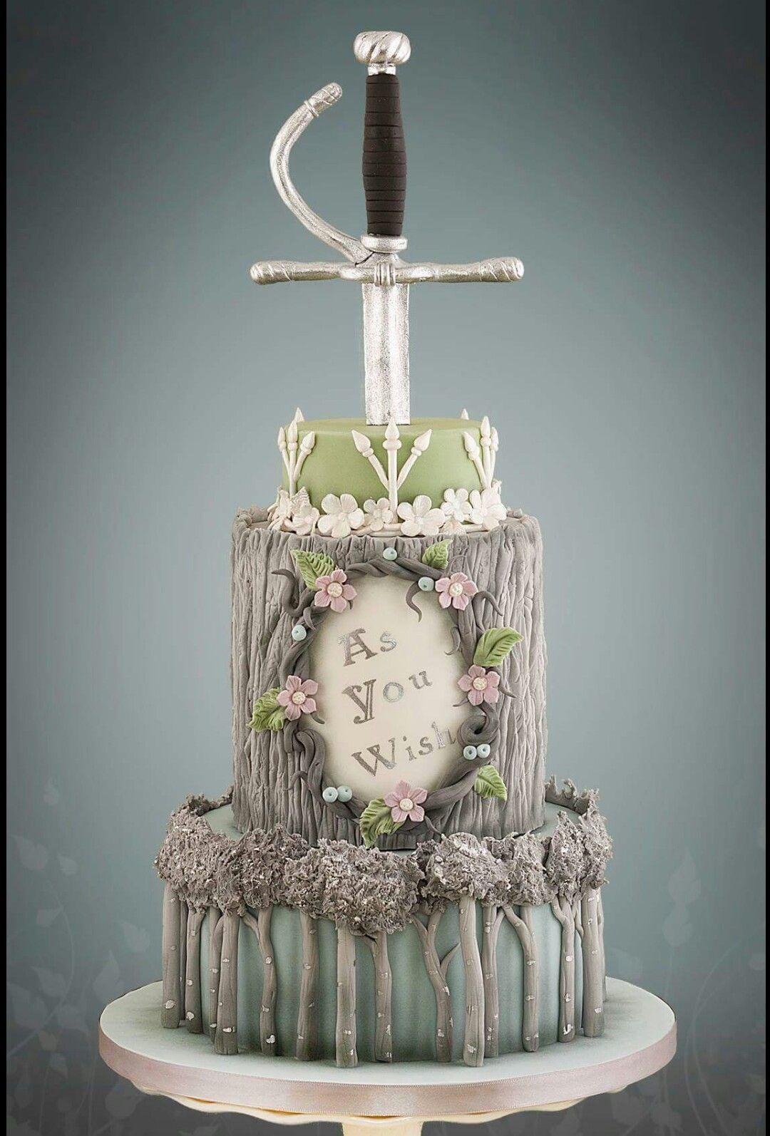 The Princess Bride 2 Awesome Cakes Cupcakes Pinterest Cake