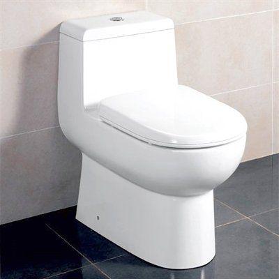 EAGO TB351 One-Piece Dual Flush Toilet | Dual flush toilet, Bathroom units,  Ensuite bathroom