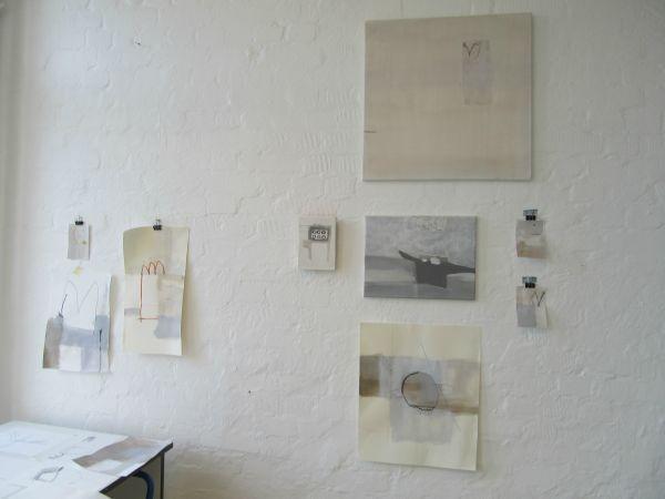 oliver-voelkening:Atelierimpression, Kunstfabrik Hannover 2013.